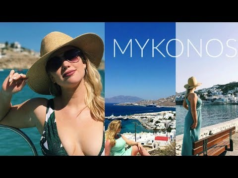 Mykonos, Greece | Travel Vlog | (The most beautiful island EVER 🇬🇷)