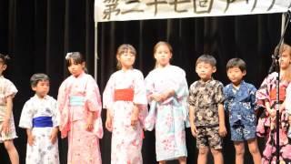 理花のアリゾナ日本語補習校合唱部発表 〜幸せ運べるように〜