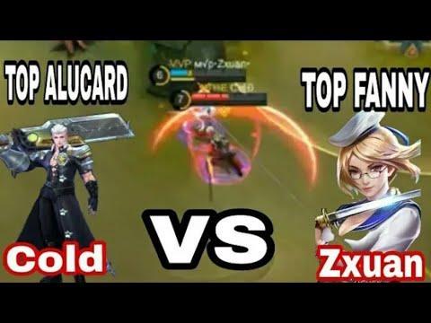 TZ ZXUAN Vs COLD!!! TOP GLOBAL ALUCARD Vs TOP GLOBAL FANNY - Kenangan TZ Zxuan