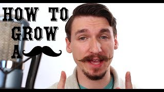 How To Grow and Style a Handlebar Mustache - A Tutorial - Matt Tastic Music