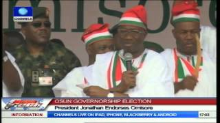 Osun Election: Jonathan Endorses Omisore As PDP Guber Candidate