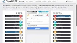 How to Exchange your bitcoin to perfectmoney wallet - Super fast payment