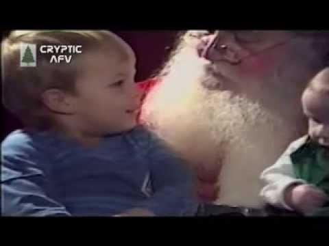 Bad breath Santa!