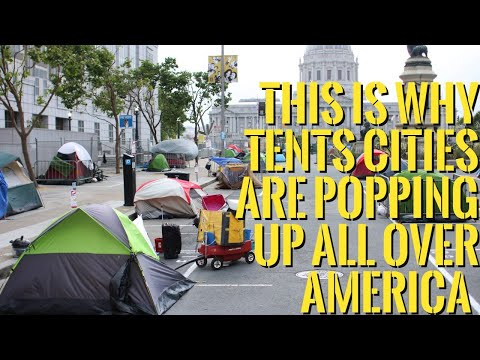 👉Top 4 Reasons Why Tents Cities Are Popping Up All Over America \u0026 Millions Of Americans Retire Poor