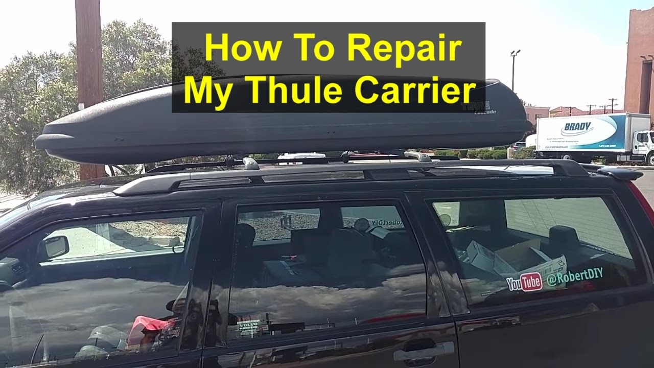 Thule Roof Box Carrier Repair Rebuild Patch Holes And