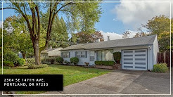 Home For Sale - 2304 SE 147th AVE. Portland, OR 97233 - Virtual Tour.