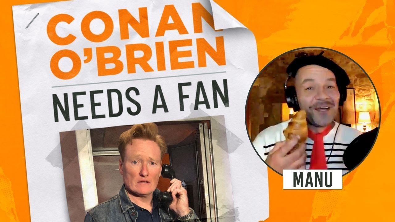 Conan Meets A Belgian Fan | Conan O'Brien Needs a Fan
