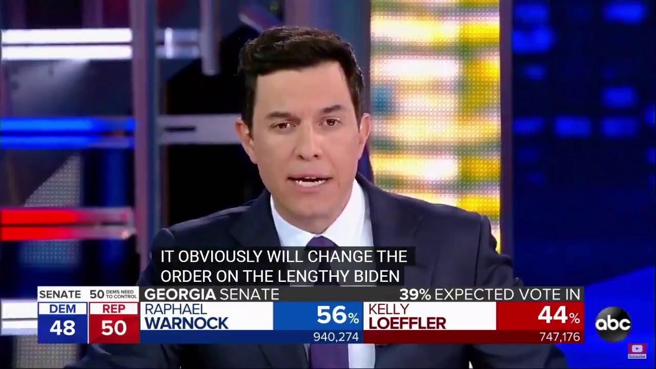バイデン陣営が全米と全世界に不正を生中継!1/6ジョージア州の大統領決選投票、なぜ数字が減るのか?もっとばれないように上手くやれよ。