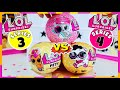 UNBOXED!   NEW LOL SURPRISE PETS SERIES 4 EYE SPY VS SERIES 3 PETS   OMG ONE BLOWS BUBBLES!!