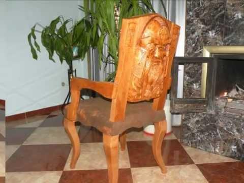 Sculpturi in lemn.wmv