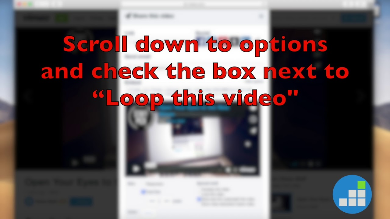 How to Loop a Vimeo Video When You Embed