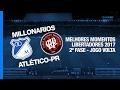 Resumo: Millonarios 1-0 Atlético PR (2-4 pen.) (8 February 2017)
