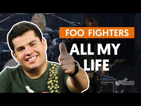 All My Life - Foo Fighters (aula de guitarra)