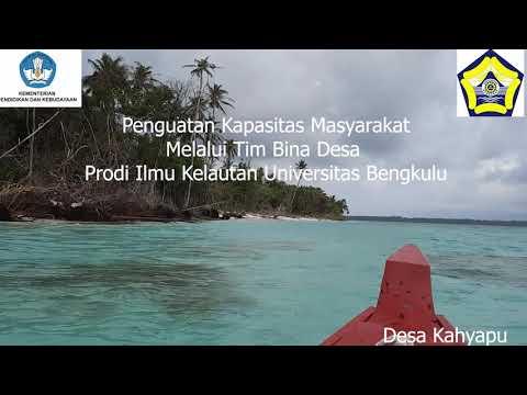 Pengabdian Kepada Masyarakat Dosen IKL di DesaKahyapu, Pulau Enggano