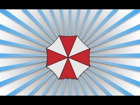Help Desk Illustrator - Umbrella Corporation Logo