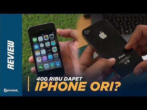 Unboxing & Review IPhone 4s Di 2020, Cuma 400rb!
