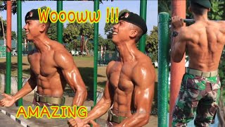 Gambar cover Indonesian Soldier -  RAIDER TNI AD on BODY BUILDING