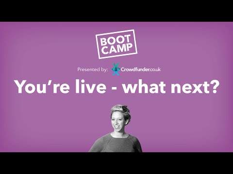 Bootcamp 2016: You're live, what next?
