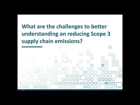 Scope 3 supply chain emissions – how to improve your supplier data