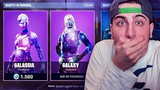 ARRIVA the Galaxy Nello SHOP Skin! 'TUTTO IL SET' Fortnite ITA!