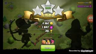 Safados me atacaram(clash of clans)