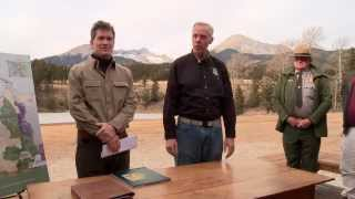 Louis Bacon Signs Blanca Conservation Easement to US Fish and Wildlife Service