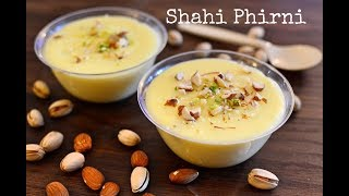 Shahi Phirni Recipe  | How To Make Firni At Home | Indian Dessert Recipe | Kitchen Quick Recipes