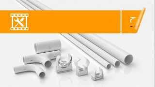 видео Короб для электропроводки: виды (пластиковый, герметичный металлорукав, плинтус-короб), размеры » Аква-Ремонт