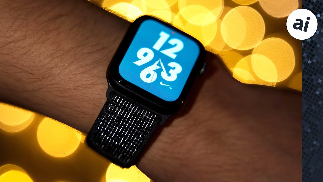 Transparentemente medianoche Hija  Top Features of the Nike+ Apple Watch Series 4! - YouTube