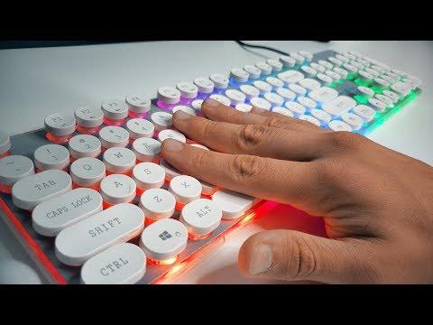 ???????? БЮДЖЕТНАЯ ❗❗ игровая не МЕХАНИЧЕСКАЯ клавиатура с RGB подсветкой из Aliexpress — ОБЗОР ????