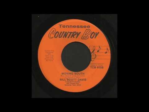 Bill Scott Davis - Moving South - Country Bop 45