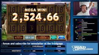 Big Bet!! Mega Big Win From Mystic Mirror!