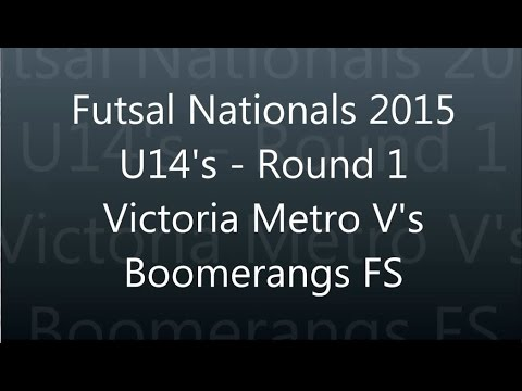 Round 1 Victoria Metro v's Boomerangs FS