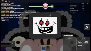 ROBLOX - Boss Battle Mini-Games 3: Fighting Flowey the Flower / Omega Flowey