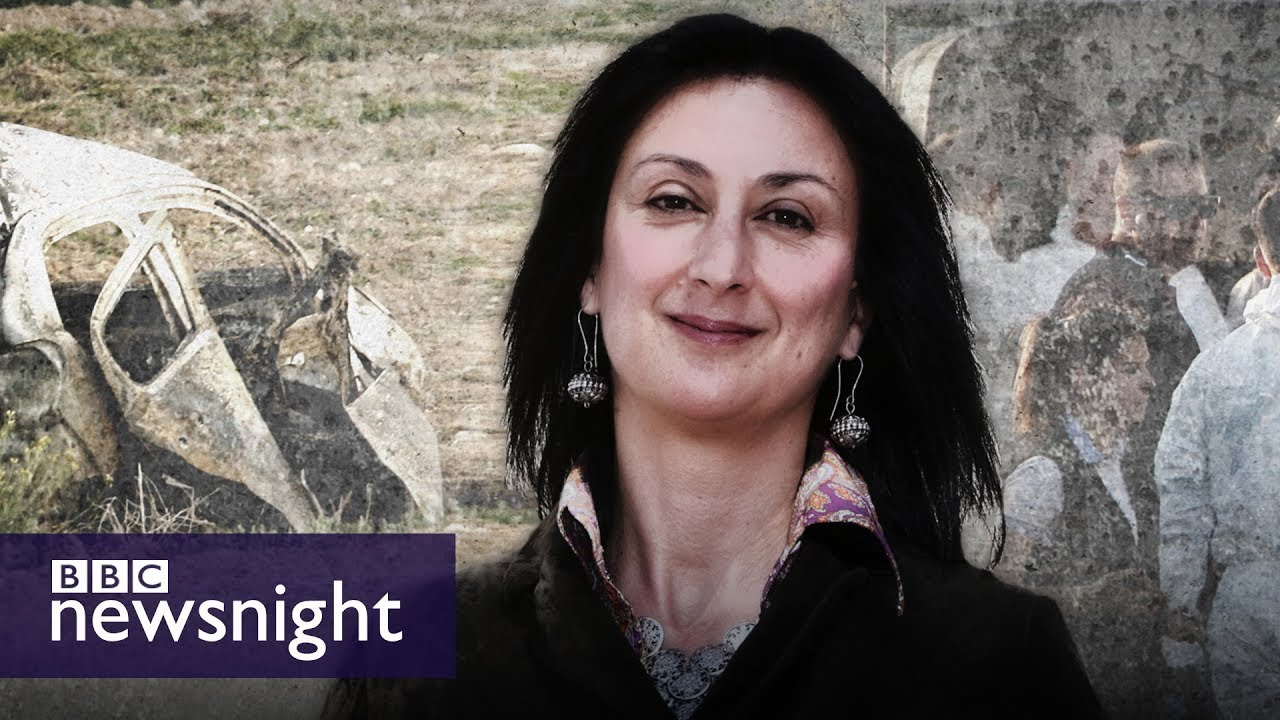 The murder of journalist Daphne Caruana Galizia: Malta's shame? - BBC Newsnight