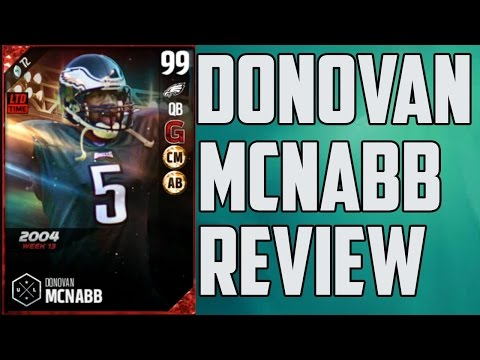 How Good is Boss 99 Donovan McNabb? MUT 17 Player Review