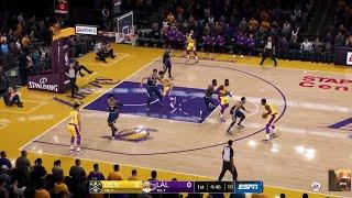 Nba Live 19 Nuggets Vs La Lakers Full Game Max Quality