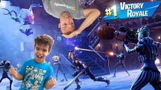 L'équipe De New Terror Fortnite Monsters Get Destroyed by Dad vs Son Family Gaming Fortnite Battle Royale