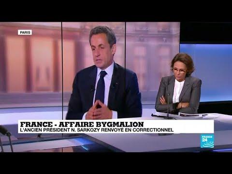 Affaire Bygmalion : l'ancien président Nicolas Sarkozy renvoyé en correctionnelle