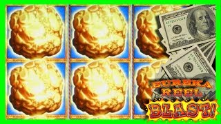 I HIT THE BUTTON AT THE BEST TIME POSSIBLE! SO FUNNY! BIG BONUS WIN on Eureka Goldmine With SDGuy!