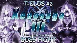 Ⓦ Xenosaga Episode 3 Walkthrough - T-elos 2 Boss Fight