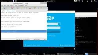 Skype Installation in Debian