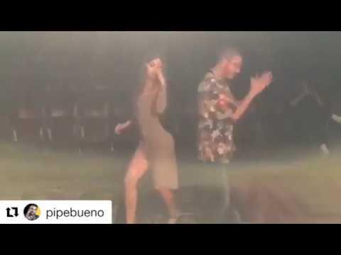 greeicy baila con PIPE BUENO su cancion (aguardiente)