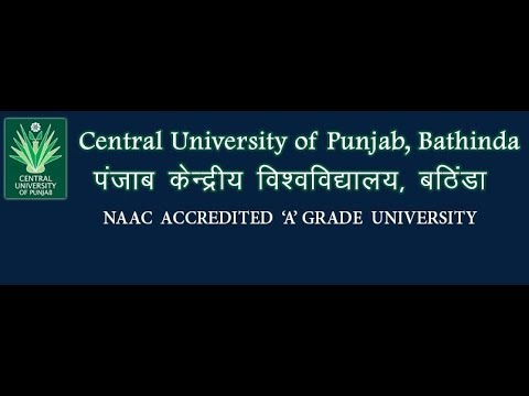 3rd CONVOCATION Central University of Punjab, Bathinda