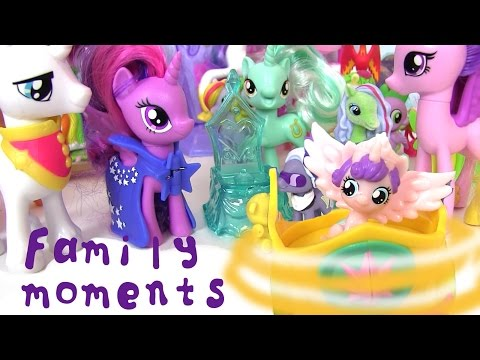 Май Литл Пони Мультик MLP Family Moments Мультики для Детей #Пони Игрушки