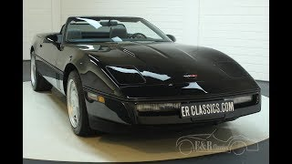 Chevrolet Corvette C4 1986 Cabriolet -VIDEO- www.ERclassics.com