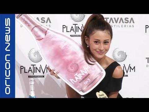 ダレノガレ明美、交際機にキャラ変「気の強さ出さなくなった」 ラメ入りスパークリングワイン『PLATINVM FRAGRANCE(プラチナム フラグランス)』発表会