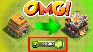 Clash Of Clans - RECORD BREAKING GEM SPREE IN CLASH OF CLANS! thumbnail