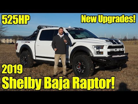 525HP 2019 Shelby Baja Raptor Walkaround, How To Buy, What's New, and Review