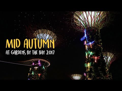 The largest lantern set ever to grace Gardens by the Bay - Mid-Autumn Festival 2017